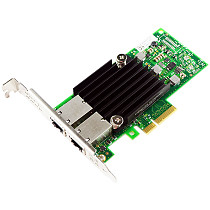 XT-XINTE 10Gb PCI-E Dual RJ45 Port Network Card Intel X550AT2 Chip with Low Bracket PCI ExpressX4 NIC Network Adapter for Server Support Windows 7/8/10/Server,UEFI, VMware