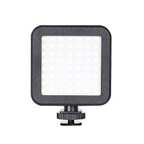 BGNing Mini Led Fill Light Portable Mobile Phone Vlog Video Multi-function Outdoor 49 Lamp Beads Live Photography Accessories