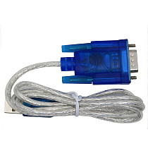 XT-XINTE 0.8m USB 2.0 to RS232 DB9 Serial Cable Prolific CH340 Chipset w/Female to Female Converter Support Windows 98/98SE/ME/2000/XP/Vista/7 32bit/8/10, Mac OS8.6