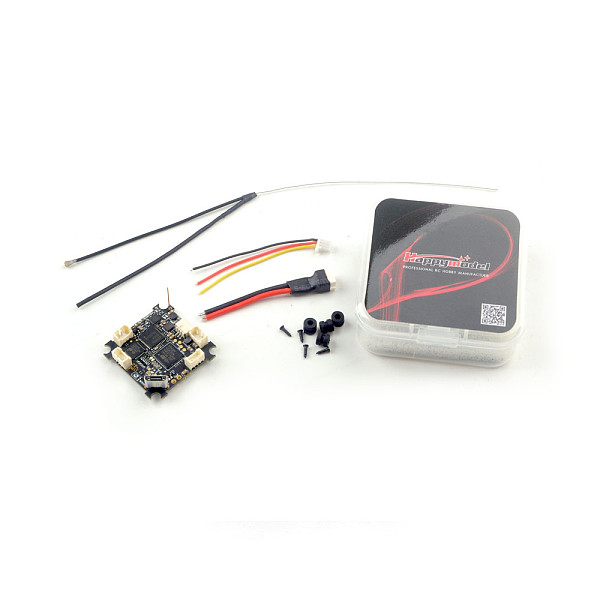 Happymodel CrazyF4 ELRS AIO 5in1 Flight controller built-in 900MHz ELRS RX For DIT FPV Racing Drone