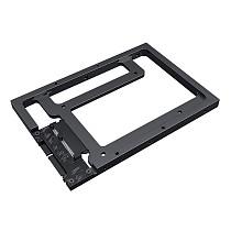 XT-XINTE 2.5 inch to 3.5 inch Hard Drive Bracket SSD3.0 Hard Drive Conversion Bracket Desktop DIY Assembly Optical Drive Bracket