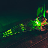 Gemfan Moonlight LED Props 51466L 5.1X4.66X3 3-Blade Light Up Propeller for RC FPV Racing Freestyle 5inch Drones Night Flying