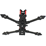 QWINOUT F4-V2 178mm Four-axis Drone FPV Racing Carbon Fiber Rack for 4inch Propelllers Quadcopter