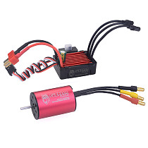 Surpass Hobby KK Combo 2435 3300KV 4500KV 4800KV 6100KV Brushless Motor w/ 25A ESC Speed Controller for 1:16 1:18 RC Buggy Drift Racing Car