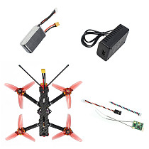 FEICHAO F4-V2 178mm Quadcopter DIY Drone Kit BNF RTF 25A 4IN1 ESC F4 OSD Flight Controller 1204 5000KV Motors FLYSKY/T-lite Radio