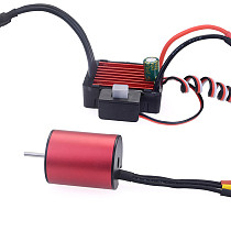 Surpass Hobby Combo 2030 Brushless Speed Controller 25A ESC+2030 4500kv Motor Waterproof For 1/18 & 1/20 RC Car
