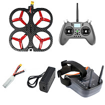 FEICHAO X115 115mm Wheelbase Quadcopter DIY FPV Drone PNP RTF Kit 25A 4in1 ESC F4 OSD Flight Controller FLYSKY/T-lite Radio