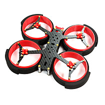 HAOYERC 3inch Scarab 154mm Wheelbase Indoor FPV Racing RC Drone Rack Frame Kit