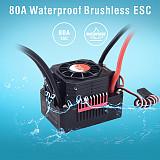 Surpass Hobby New KK Waterproof Combo 3665 2000KV 2300KV 2900KV 3100KV 3500KV Brushless Motor w/ 80A ESC for RC 1/10 GTR/Lexus