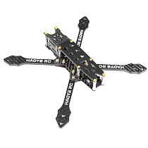 HAOYERC X1 229mm Wheelbase 5mm Arm Thickness H Tpye 5 Inch Frame Kit for RC Drone FPV Racing