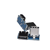 FEICHAO L Shape USB Adapter Board Type C 90° Connector for DJI Digital HD FPV Air Unit FPV Racing Drone Part