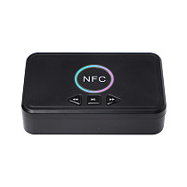 XT-XINTE D10 NFC USB Bluetooth 5.0 Receiver Wireless 3.5mm AUX NFC to 2 RCA Audio Stereo Adapter