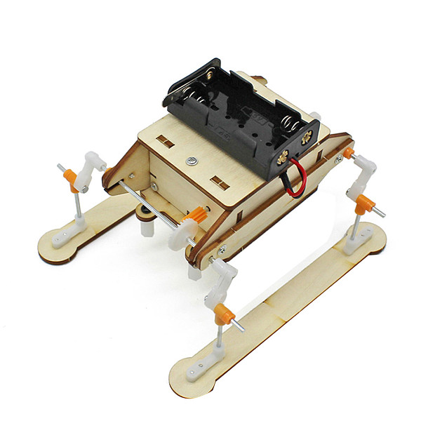 FEICHAO Electric Walking Robot DIY Handmade Steam Toy for Children Physical Scientific Experiment Learning Educational Toy