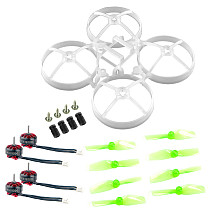 Happymodel EX0802 KV19000 1S Brushless Motor with Damping 40MMX2 Propeller for Moblite7 TinyWhoop RC Quadcopter FPV Racing Drone