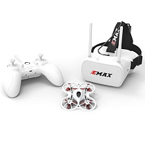 EMAX Kinyhawk RTF Kit - With Controller & Goggles 75mm Indoor racing drone
