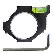 FEICHAO Aluminum Alloy 25.4mm/30mm/34mm Ring Bubble Level Balance Pipe Clamp Bracket for SLR Camera Photography Spirit Level Scope Ring