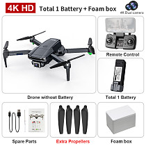 LYZRC L800 Pro Foldable WIFI FPV Drone with Dual 4K Camera Optical Flow Positioning