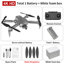 LYZRC L106 Pro RC Drone GPS Anti-shake Self-Stabilizing 2-axle Gimbal 4K HD Camera Professional Aerial Photography Quadcopter Drone