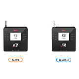 ISDT K2 AC 200W DC 500Wx2 Dual Channel Balance Lipo Discharger Charger for Lipo NiMh Pb Battery RC FPV Racing Drone