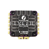 Flycolor X-Cross 45A 4in1 ESC BLheli_32 3-6S Electronic Speed Controller Without BEC for RC Drone FPV Racing