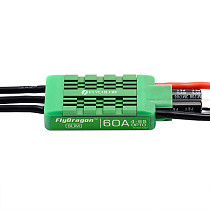 Flycolor FlyDragon Slim 60A 2-6s ESC Speed Control Waterproof For Quad Hex Multirotor Plant Agriculture UAV Drone