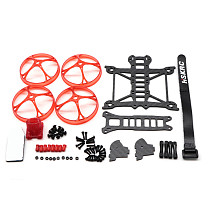 JMT BRAVE 91 103mm Wheelbase 2Inch Toothpick Frame Kit 2mm Arm With Protection Ring Cover for FPV Racing RC Drone