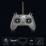 Jumper T-Lite 16CH Hall Sensor Gimbals CC2500/JP4IN1 RF System OpenTX Mode2 Transmitter Remote Controller with Happymodel Mobula6 1S 65mm Brushless WhoopDrone