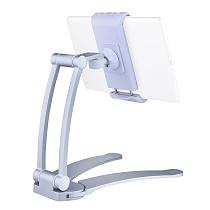 FEICHAO Aluminum Kitchen Desktop Phone Tablet Holder Universal Stand Flodable Adjustable 5-13 inch Tablet Mobile Phone Desktop Mount