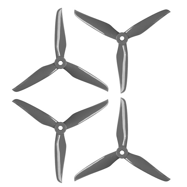 2Pairs DALPROP T5139.5 5inch Cyclone Propeller 5mm POPO 3-blade Prop for RC FPV Racing Drone Frame Kit