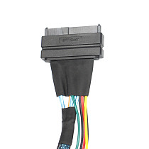 XT-XINTE U.2 Adapter Cable SFF-8654 Slim SAS to SFF-8639 Line for NVME SSD PCIE Cable for Mainboard 750 P3600 P3700 M.2 SSD