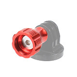 FEICHAO 1x CNC Aluminum Alloy Thumb Knob Mini Short / Long Screw with Bolt Nut for Insta360 ONE R/ GOPRO9/8/MAX Camera Accessories