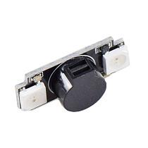 JMT Ultra-light Colorful LED Alarm Buzzer Board WS2812 NAZE32 F3 F4 F7 Programming 100DB Decibels For FPV RC Racing Drone RC Model