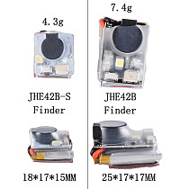JMT Finder JHE42B/JHE42B_S 5V Super Loud Buzzer Tracker 110dB with LED Buzzer Alarm For FPV Racing Drone Flight Controller