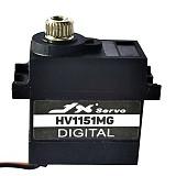 JX Servo 8.4V Waterproof Metal Gear Digital Servo 15g PDI-HV1151M Mini  for Traxxas TRX-4 and the remote control car