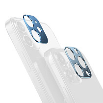 FCLUO Aluminum Alloy Back Camera Lens Protection Case for Phone12 Mini Camera Screen Protector for Phone12 Pro/Pro Max Cover