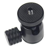Mini Ball Head 1/4  Screw Tripod with Lock Knob for DSLR Camera Smartphone Support Flash Stand Video Photo Accessories