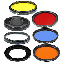 BGNing Aluminum Alloy Mount to 52mm Standard Filter Wide-angle Macro CPL Lens Adapter Ring with UV CPL Starlight Filter for Sony ZV1