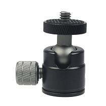 BGNING Mini Ball Head 1/4  Screw Tripod with Lock Knob for DSLR Camera Smartphone Support Flash Stand Video Photo Accessories
