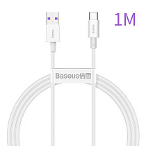 Baseus New Data Cable Fast Charge Flash Charge 66W 5A Cord Quick Charge For Huawei Typec Android Data Cable