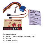 SKYRC TORO TS50 ESC Sensored Brushless ESC for 1/10 RC Car model Buggy Rouring Car