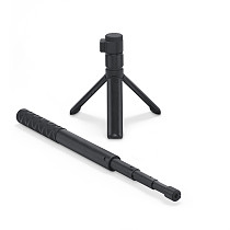 BGNING 1.1m Portable Selfie Stick for Insta360 ONE X2 / ONE R Bullet Time Accessories Camera Tripod Rotary Handle Grip Max Load 2kg