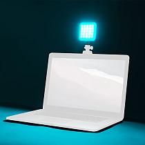 BGNING LED Video Light 2500-6500K With Cold Shoe Mount Mini Vlog Fill Light 3000mAh Battery Camera Light Lamp Photography Accessories