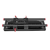 FEICHAO Quick Rlease Baseplate Kit with 15mm Rail Clamp 300mm Rods 1/4  3/8  Arri Dovetail Mount for BMPCC 4K DSLR Camera Follow Focus