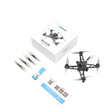 BETAFPV HX115 SE 115mm 3-inch 1S Toothpick Racing Drone F4 1S 12A AIO Flight Controller 3-5 Minutes Flight Time RC Quadcopter