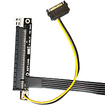 ADT-Link RTX3090 Graphics Card Extension Cable PCIe 4.0 x16 To x1 Riser Card A/N Cards Gen4 PCI-E4 Riser Cable For BTC Miner