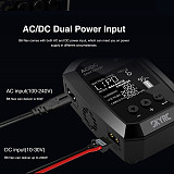SKYRC B6NEX AC 50W/DC 200W Intelligent Balance Charger BT 5.0 with 2.4 inch VA Display for 1-6S Cell Li-ion or LiPo Batteries