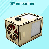 FEICHAO Wood Model DIY Assembly Homemade Air Purifier Science Experiment Technology STEAM Toys For Kids Children Educational