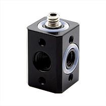 1/4  3/8  Adapter Screw Versatile Mini Magic Cube Mount for DSLR Camera Holder Umbrella Bracket Flash Light Mic Tripod Ball head