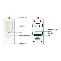 BETAFPV ELRS Nano TX Module 2.4G 915MHz 868MHz Nano TX Module for TBS Tango 2 Pro FRSKY X-Lite X9 Lite Long Range Transmitter