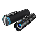 APEXEL HD 20x-40x Telephoto Zoom Lens Monocular+ Selfie Tripod for iPhone Samsung Smartphones for Traveling Hunting Hiking